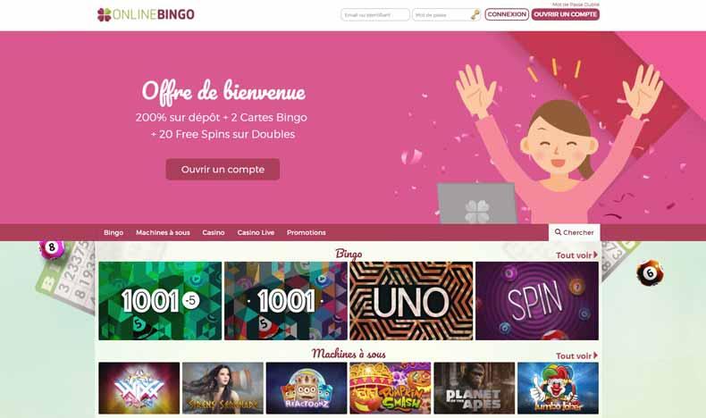 Avis Casino OnlineBingo