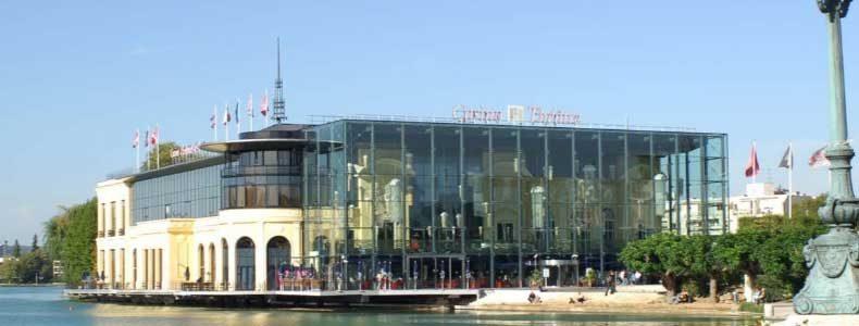Le casino d'Enghien-les-Bains