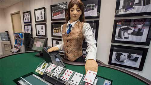 Croupier Robot Poker